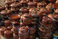Mexikanische Keramik stockfotografie