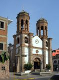 Mexikanische Kirche Lizenzfreie Stockfotos