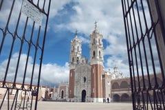Mexikanische Kirche lizenzfreie stockfotografie