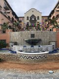 Mexikanische Kleinstadt stockbild