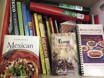 Mexikanische Kochbuch-Sammlung Stockbilder