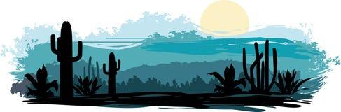 Mexikanische Landschaft Lizenzfreie Stockfotos