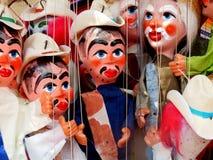 Mexikanische Marionetten Stockbild