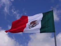 Mexikanische Markierungsfahne Stockbild
