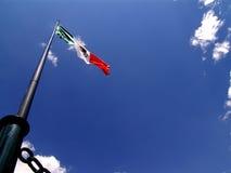Mexikanische Markierungsfahne Lizenzfreies Stockfoto