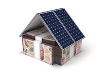 Mexikanische Pesos energiesparend Lizenzfreie Stockfotos
