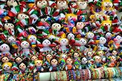 Mexikanische Puppen stockfoto