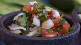 Mexikanische Salsa Stockfoto