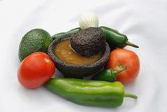 Mexikanische Salsa Lizenzfreie Stockfotos