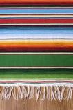 Mexikanische serape Decke Stockfotografie