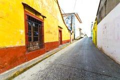 Mexikanische Straße lizenzfreie stockfotografie