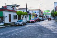 Mexikanische Straßen-Szene stockfotografie