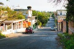 Mexikanische Straßen-Szene stockfotos
