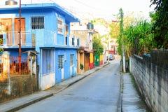 Mexikanische Straßen-Szene lizenzfreies stockbild