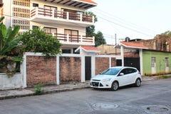 Mexikanische Straßen-Szene lizenzfreies stockfoto