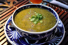 Mexikanische Suppe Stockfotos