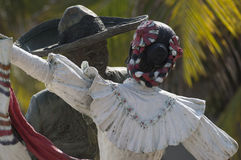 Mexikanische Tänzer-Statue Stockbilder