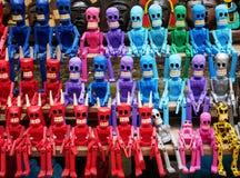 Mexikanische Teufel-Puppen Stockfotos