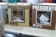 Mexikanische Wahlen Stockfotos