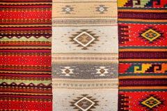 Mexikanische Wolldecken Stockfotografie