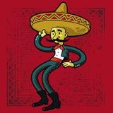 Mexikanischer Hintergrund Lizenzfreie Stockbilder