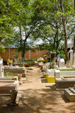 Mexikanischer Kirchhof Lizenzfreie Stockfotografie