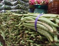 Mexikanischer Markt mit frischem Vegtables Lizenzfreies Stockfoto