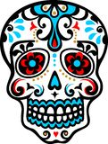 Mexikanischer Schädel lizenzfreie abbildung
