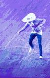 Mexikanischer Seiltrick des Cowboys Stockfoto