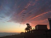 Mexikanischer Sonnenuntergang Lizenzfreie Stockfotografie