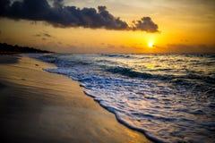 Mexikanischer Strand Stockbild