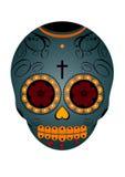 Mexikanischer Tag des toten Schädels Stockfotos