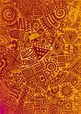 Mexikanischer Teppich Stockfoto