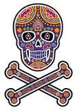 Mexikanischer Zuckerschädel stockfoto