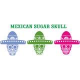 Mexikanischer Zuckerschädel Lizenzfreie Stockbilder