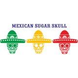 Mexikanischer Zuckerschädel Stockbild
