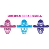 Mexikanischer Zuckerschädel Stockfotografie