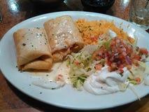Mexikanisches Abendessen Lizenzfreie Stockbilder