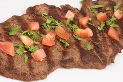 Mexikanisches carne asada Lizenzfreies Stockfoto