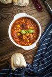 Mexikanisches chili con carne Lizenzfreie Stockbilder