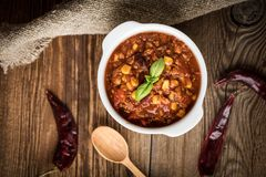 Mexikanisches chili con carne Stockbild