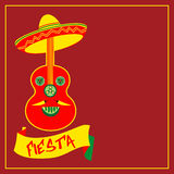 Mexikanisches Feiertag postercinco De Mayo Lizenzfreie Stockfotografie