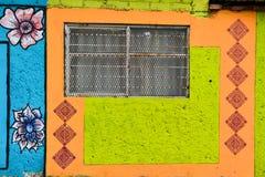 Mexikanisches Fenster Lizenzfreie Stockbilder