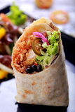 Mexikanisches Küche Burritos-Garnele queiro Lizenzfreie Stockbilder