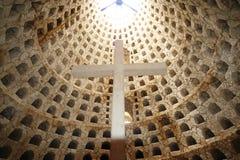 Mexikanisches Krematorium, Lagerhaus für Urne stockfotografie