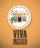 Mexikanisches Kulturdesign Stockfoto