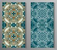 Mexikanisches stilisiertes Talavera deckt nahtloses Muster mit Ziegeln Hintergrund für Design und Mode Arabische, indische Muster Stockfotos