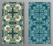Mexikanisches stilisiertes Talavera deckt nahtloses Muster mit Ziegeln Hintergrund für Design und Mode Arabische, indische Muster Lizenzfreies Stockbild