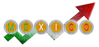 Mexikanisches Wachstum Stockfoto
