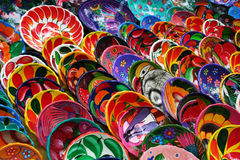 mexikansk keramik Arkivfoto